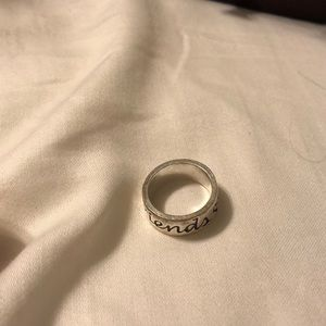 James Avery best friends ring